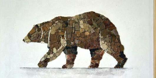 Çakıl Taşından Duvar Dekorasyonu 2