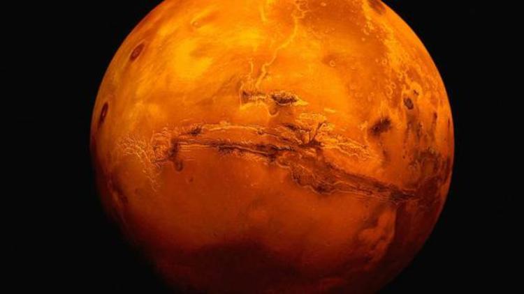 Nasa tarafından çekilen Mars'ın yüzeyi